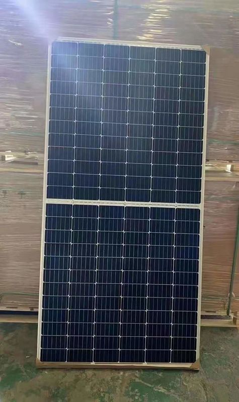 144 Cells 6bb Bifacial Hbd Glass 435w Longi Solar Panels